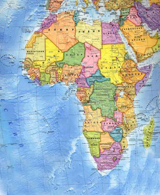 В большинстве стран африки очень