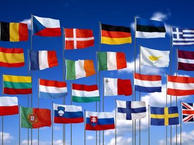 Здесь приведены флаги стран европы